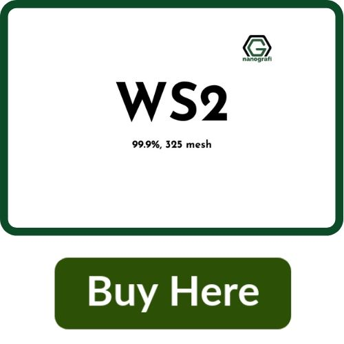 Tungsten Disulfide Micron powder, WS2, 99.9%, 325 mesh