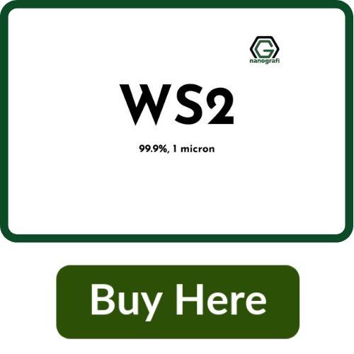Tungsten Disulfide Micron powder, WS2, 99.9%, 1 micron